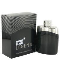 Mont Blanc Legend 3.4 oz Men's Eau de Toilette Spray AUTHENTIC NEW IN SEALED BOX
