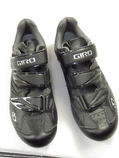 Worn ones Women's GIRO SANTE bike shoe size 40-W 8.25 U.S. triple strap,black$99