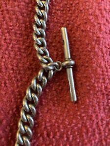 Albert Sterling Silver Pocket Watch Chain