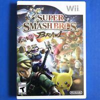 Super Smash Bros. Brawl (nintendo Wii, 2008) NEW FACTORY SEALED, 100% AUTHENTIC.