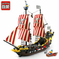 Pirates The Brick Bounty 590Pcs Building Blocks Bricks Ship Weapon FAST SHIPP