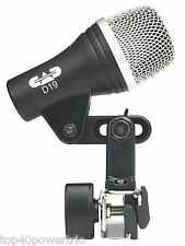 CAD D19 Snare / Guitar Amp Microphone NEW  Authorized CAD Dealer Full Warranty
