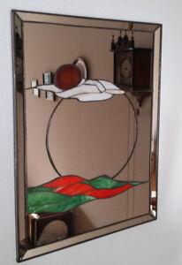 Spiegel Kunstspiegel Tiffany