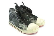 Kids Skechers Darth Vader High Top Sketchers Lace Up Shoes Size 2 Galaxy Invader