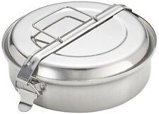 Fiambrera Ibili de acero inoxidable con 2 platos 1 8l.