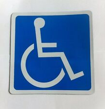 Disable Sign Information Full Magnetic Mobility Sign for Car Vehicle Aids Logo