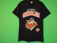 2000 Baltimore Orioles Mens Size M Medium True Fan MLB Baseball T Shirt