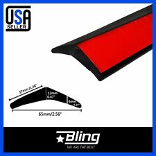 3ft Car Truck SUV 65mm Foam Front Bumper Lip Splitter Chin Spoiler Body Trim