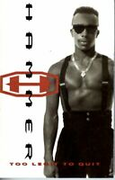 MC Hammer Too Legit To Quit 2 Addams Groove 1991 Cassette Tape Album Rap Hiphop