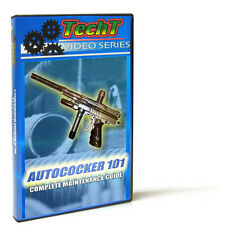Autococker 101 Tech Dvd by Techt - Fix Any Autococker Type Paintball Marker