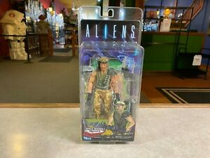 "NECA Aliens vs Predator SPACE MARINE DRAKE 7"" Action Figure"