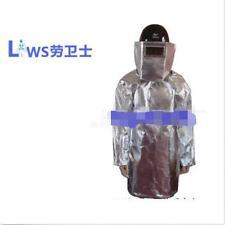 700-1000 Degree Aluminized Fireproof Suit Heat Resistant Clothes e