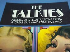 Vintage The Talkies Book - Richard Griffith - Articles and Illustrations 1928-40