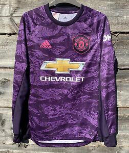 Manchester United Goalkeeper Home Shirt 2019/20 SIZE 13-14 Years