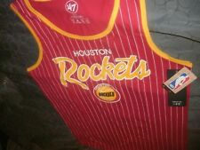 Nba Men's '47 Houston Rockets Pinstripe Tank Top, size Xl (B55)