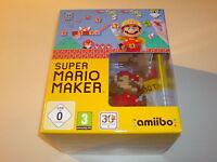 Wii U Spiel Super Mario Maker Limited Edition Pack Neu ungeöffnet