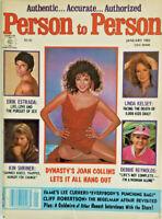 Person to Person Magazine January 1983 - Joan Collins - Erik Estrada - No Label