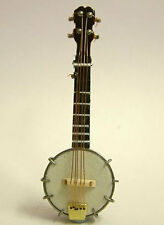 Banjo , Miniature Instrument Music Room Musical, Heidi Ott