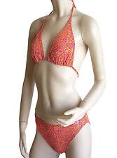 Tan Thru triángulo-bikini talla 38 B-Cup druchbräunend nuevo