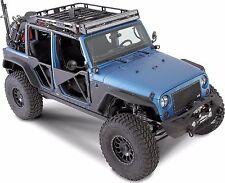 Smittybilt Front and Rear XRC  Fender Flares 07-16 Jeep Wrangler JK JKU 76839
