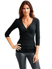 HEINE Damen-Pullover & -Strickware mit V-Ausschnitt
