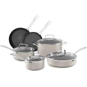 KitchenAid Architect Series Aluminum Nonstick 10-Piece Cookware Set