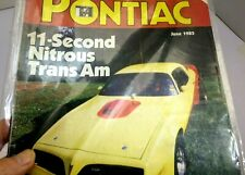 HIGH PERFORMANCE PONTIAC MAGAZINE June 1983 Nitrous TRANS AM