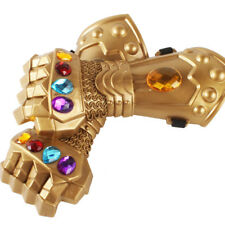 Kids Toys Superheroes Infinity War Thanos Infinity Gauntlet Gloves Cup Cosplay