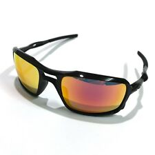 Oakley Sunglasses * Triggerman 9266-03 Polished Black Ruby Iridium COD PayPal