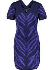 VERSACE JEANS Zebra Stripe Dress BNWT