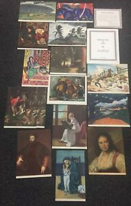 16 Prints 1937 TREASURES OF ART National Committee for Art Appreciation VF
