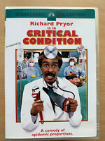 Critical Condition DVD 1986 Richard Pryor Poses as Doctor Comedy Region 1