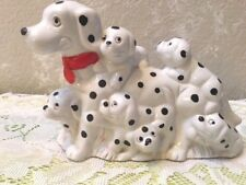 Dalmatian Mom and Pups Figurine, Free Shipping