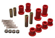 Energy Suspension Control Arm Bushing Set Red Front for 01-10 Sierra 2500 HD