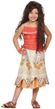 Disney Authentic Moana Costume Dress up Polynesian Outfit Girls Size 3t 4t