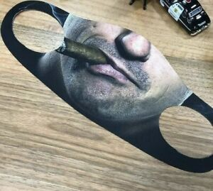 Washable Breathable Reusable Smoking Cigar Men Face Mask Adult Unisex UK Seller