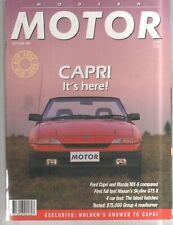 Modern Motor 1989 Sep Ford Capri Commodore Group A Nissan Skyline Toyota Celica