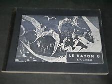E. P. JACOBS ( Blake et Mortimer) LE RAYON U Ed RTP Ed ORIGINALE RARISSIME