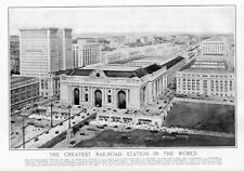 ARCHITECTURE GRAND CENTRAL TERMINAL THE GREATEST RAILROAD STATION IN THE WORLD