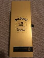 JACK DANIELS No.27 GOLD (EMPTY) BOTTLE WITH BOX