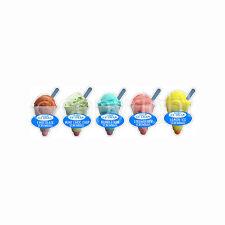 ICE CREAM Van ADESIVI, 5 Screwball sapori Die Cut Nuovo per 2012