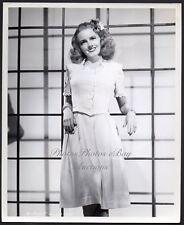 JANET BLAIR sexy big band singer actress 1944 VINTAGE ORIG PHOTO by Chenoweth