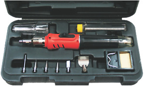 Soldering Iron Gas Torch Kit T&E Tools HS-1115K