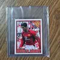 Cristiano RONALDO Rookie Manchester United 2006 Panini # 72