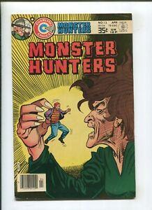 MONTER HUNTERS #13 (5.0) 1978 MANTA!