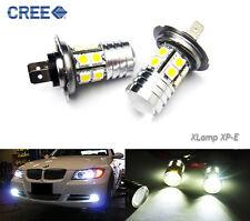 H7 CREE 12 SMD LED Projector Daytime Running Light For BMW 328i 330i 328i 335i