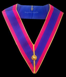masonic regalia-MARK DEGREE- MARK PROVINCIAL UNDRESS COLLAR (BRAND NEW)