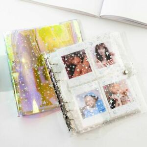 Card Holder Binders Albums Transparent Star Album Photo Album Photocard Holder