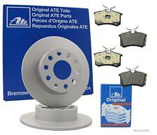 ATE Bremsenset hinten Bremsscheiben + Bremsbeläge VW PASSAT Variant