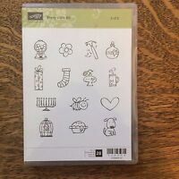 Stampin' Up! Every Little Bit 2 of 2  Unmounted Rubber Stamp Set New #120558